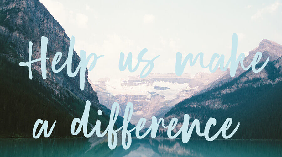 make a difference artwork
